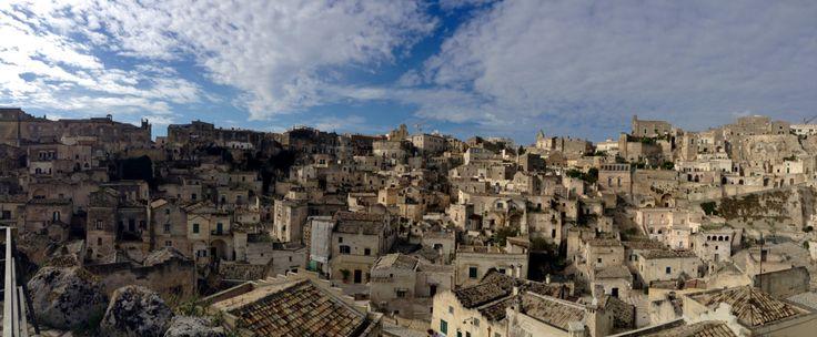 Matera ciudad antigua