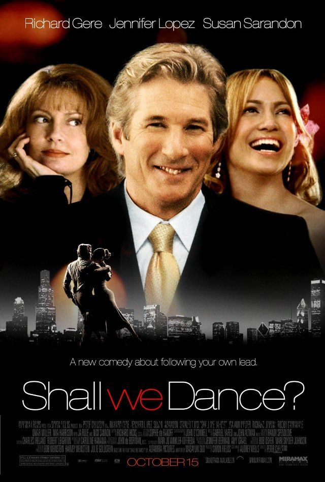 SHALL WE DANCE?  I cried like a miniature Niagara Falls when he came up the escalor in his tuxedo with rose!
