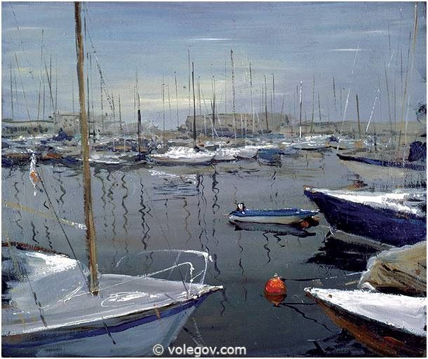 PORT TRIEST, painting,