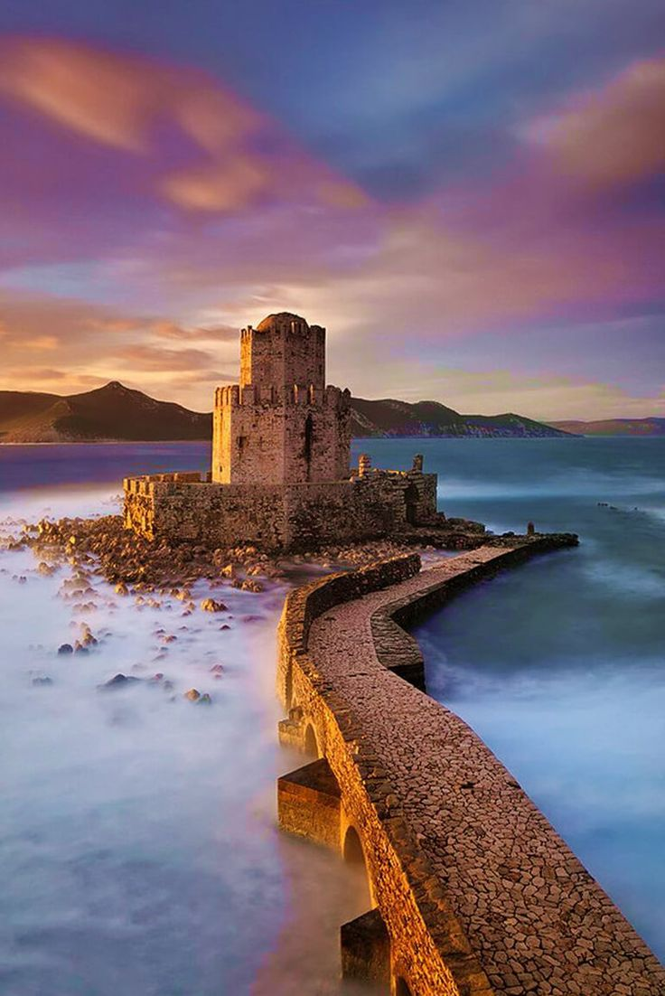 The Methoni Castle Greece