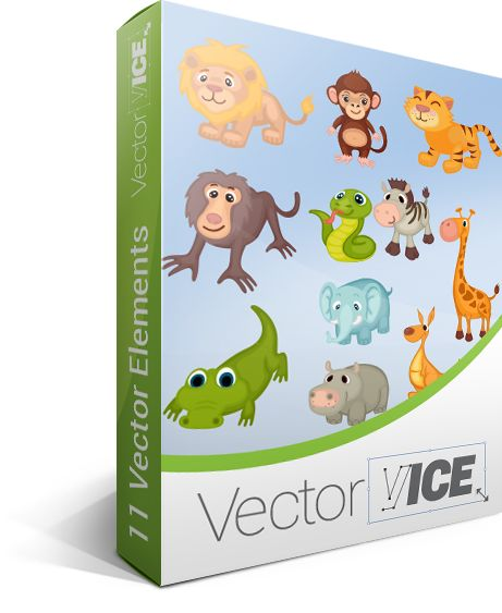 Wild Animals Vector Pack #wild #animals #vector #handdrawvector http://www.vectorvice.com/wild-animals-vector-pack