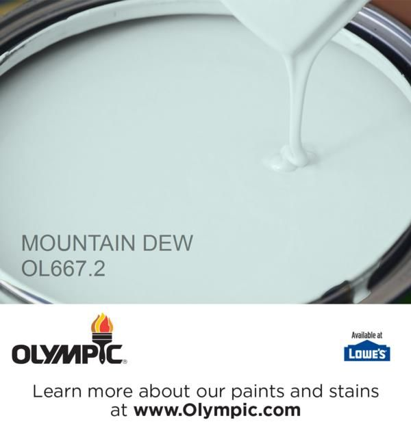 MOUNTAIN DEW OL667.2 is a part of the aquas collection by Olympic® Paint.