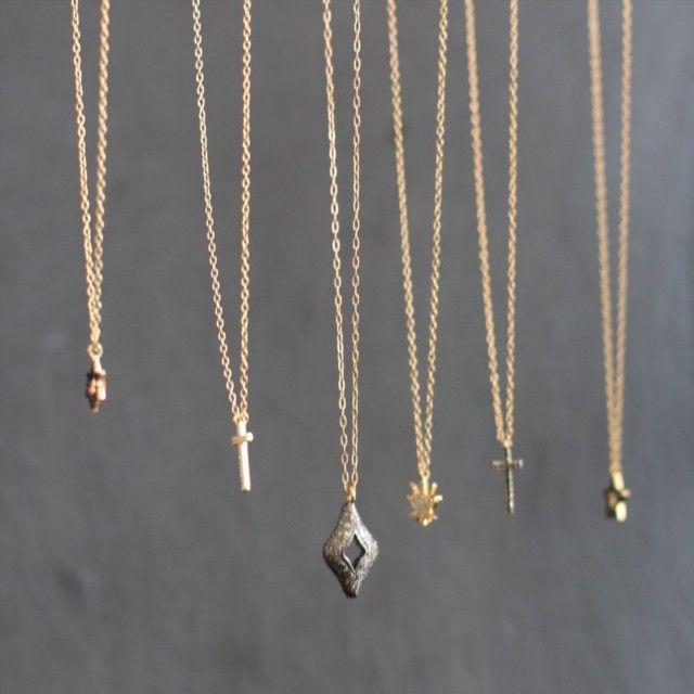 pascale monvoisin la luna necklaces on les trouvailles d. Black Bedroom Furniture Sets. Home Design Ideas