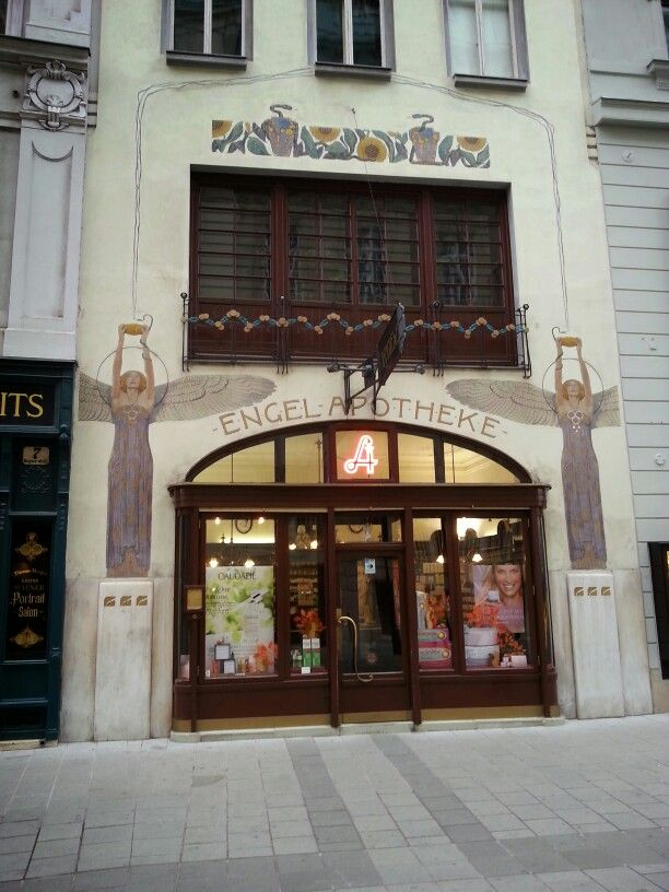 """""""Engel Apotheke"""" Vienna / Vídeň"""