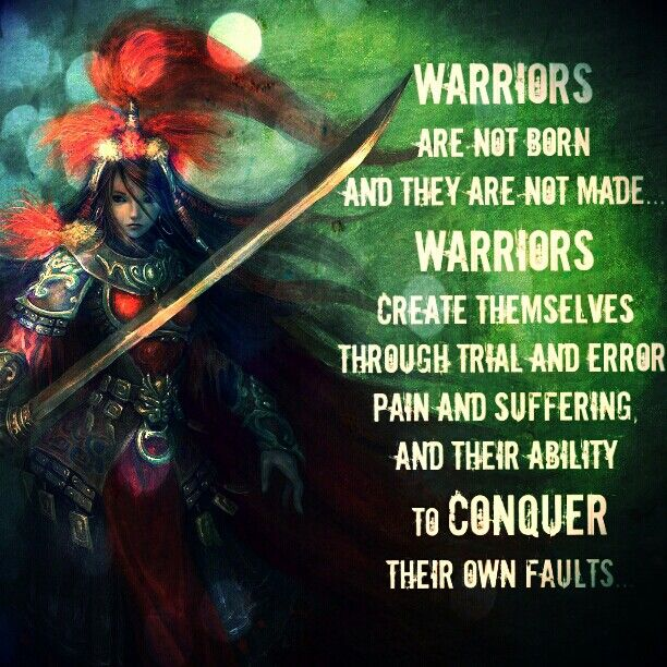 The Warrior Within Us                                                                                                                                                                                 More