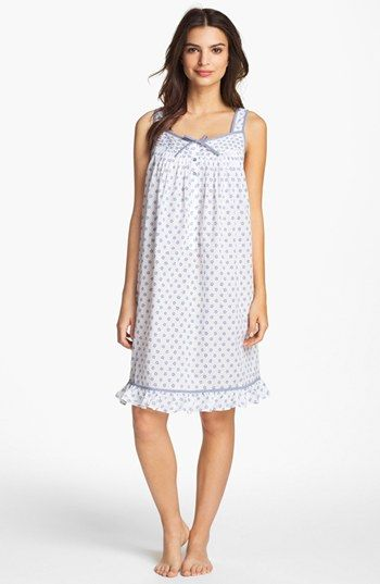 Eileen West 'Starfish Cove' Short Nightgown available at #Nordstrom