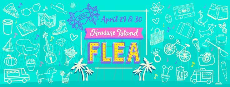 Treasure Island Flea is a San Francisco shopping market offering Antiques, Collectibles,Indie Designs, Makers, Art, DIY workshops, Vintage, Gourmet Food & Wine.