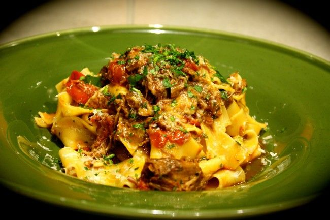 Lamb Shank Ragu with Pappardelle