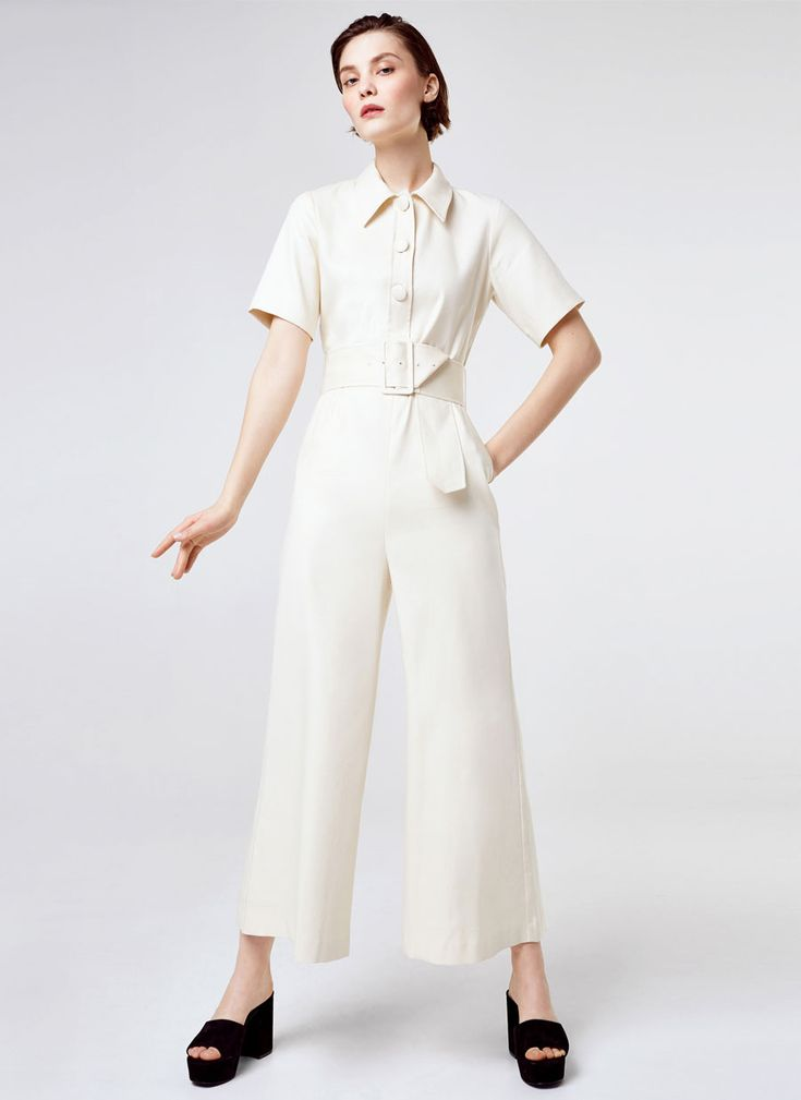 Uterqüe United Kingdom Product Page - Ready to wear - Jumpsuits - Shirt-style jumpsuit - 180