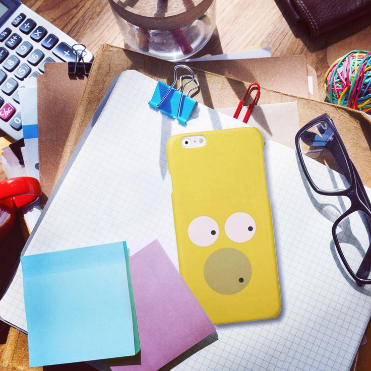 #Cover #Case for #IPhone & #Samsung #glamour #homer #geek #style #apple #colorful #cartoon #office http://bit.ly/IphoneCoverMinimalHomer