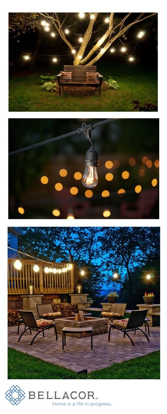 Best String Lights Outdoor : 10 Best ideas about String Lights Outdoor on Pinterest Backyard party decorations, Outdoor ...