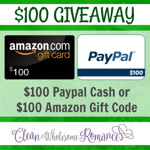100 Amazon Gift Card Or Paypal Cash Giveaway From Cwr Melissa Mcclone Amazon Gift Card Free Amazon Gifts Free Amazon Products