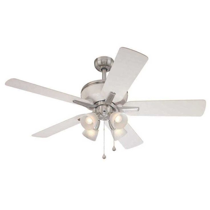Mejores 44 imgenes de ceiling fans with lights en pinterest wonderful harbor breeze fans in white with four lights for home furniture ideas aloadofball Images