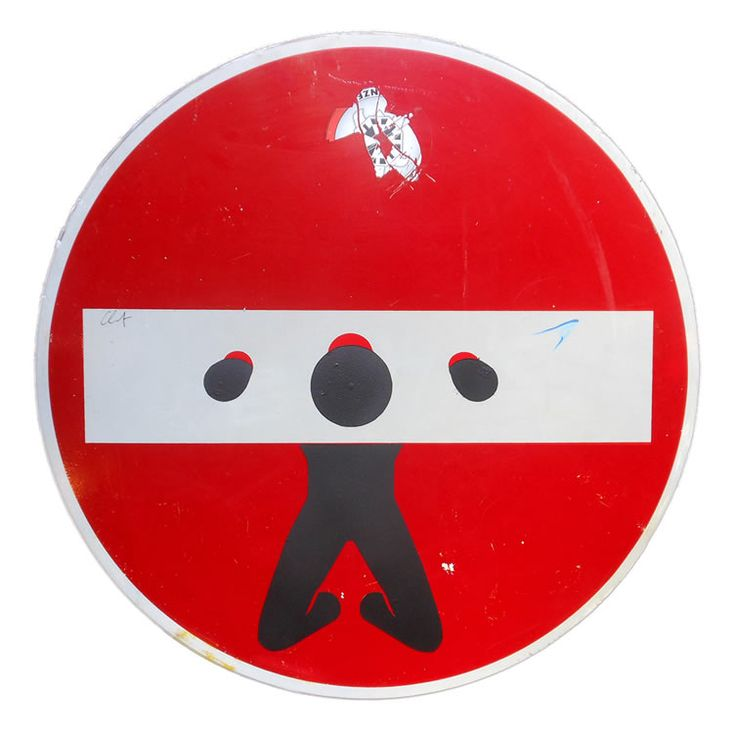 Clet Abraham abandoned his classical training to target the street signs of Florence...