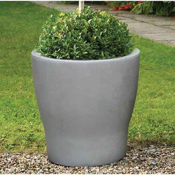 Modern Round Composite Pot Planter Planters Planter Pots Self