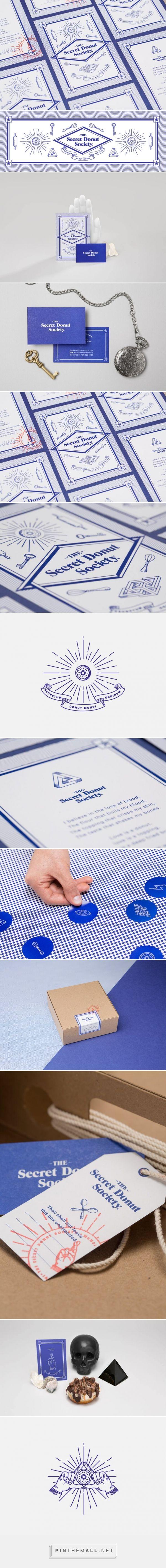 Branding Concept: The Secret Donut Society
