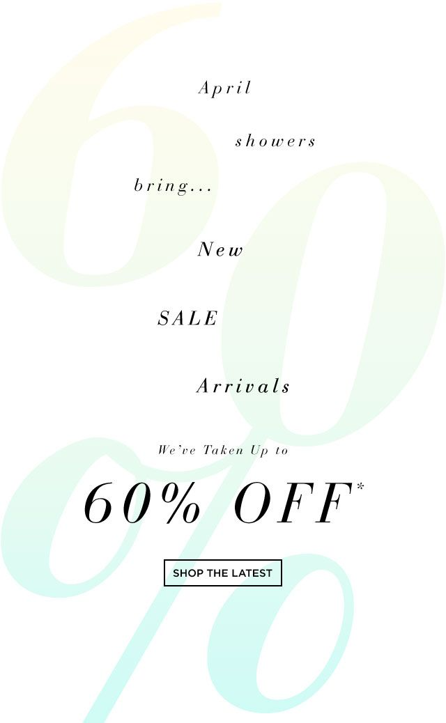 S5A - NEW SALE ARRIVALS, Up to 60% Off