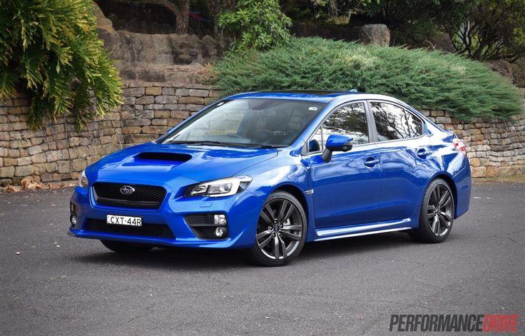 2016 Subaru WRX Premium-WR Blue