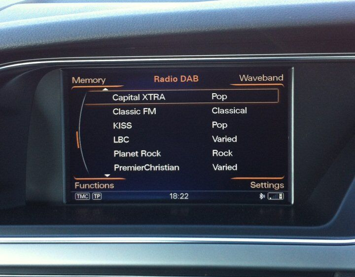 Genuine Audi MMI 3G DAB Radio Supply & Fit MMi 3G Basic High Plus