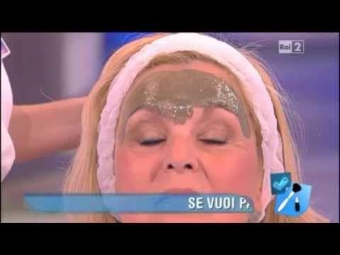 """Come togliere le rughe sulla fronte- Joanna Hakimova """"Detto Fatto"""", Rai2"""
