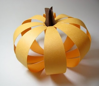 3D Pumpkin Tutorial craftDecor Ideas, Arrival Saturday, Fall Decor, Involvement Children, Autumn Seasons, 3D Pumpkin, Silhouettes Tutorials, Holiday Crafts, Pumpkin Tutorials