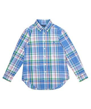 Blue checked cotton shirt S-L Sale - Ralph Lauren Sale