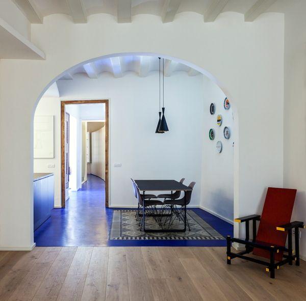 Suelo cocina material industrial con dibujo de azulejos for Inalco carrelage