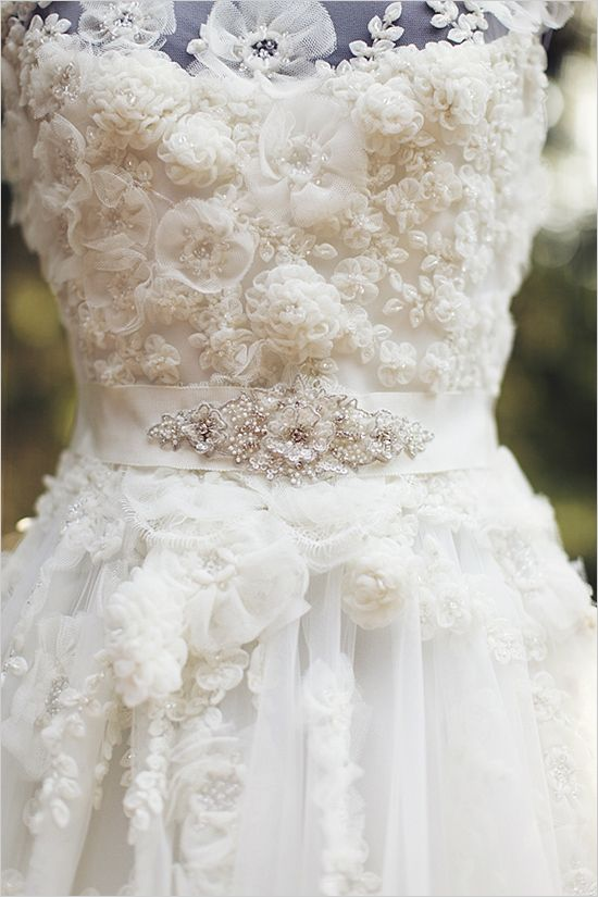 Elie By Elie Saab beaded wedding gown
