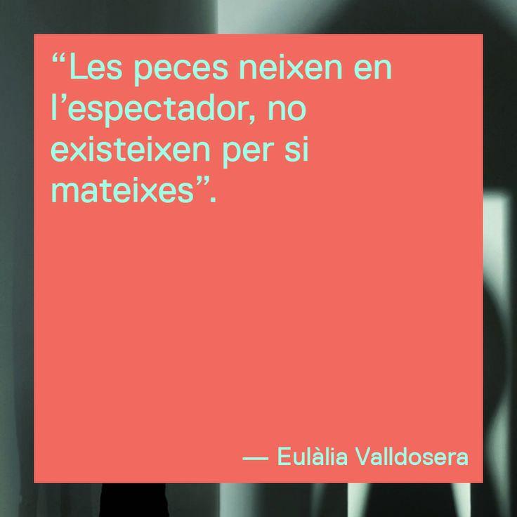 Extracte de l'entrevista amb l'artista Eulàlia Valldosera http://rwm.macba.cat/ca/especials/fons-eulalia-valldosera/capsula