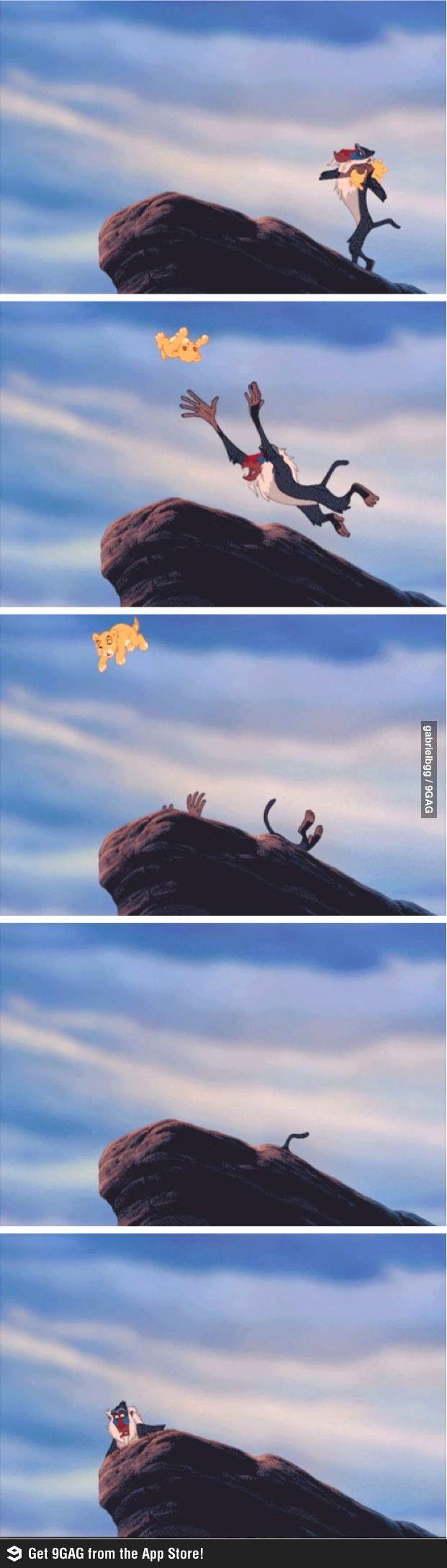 I somehow missed this part of the movie the 1,000,000 times I watched it. Parents must have fast forwarded over it, even though they let me watch mufasa die every time.