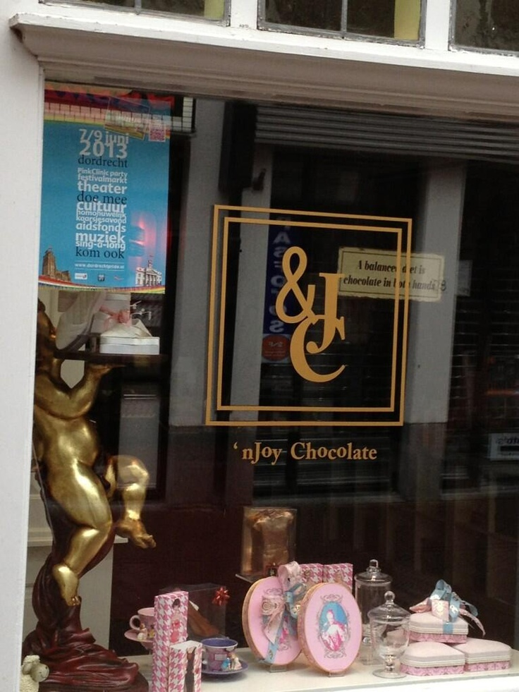 nJoy Chocolate promotie in winkel