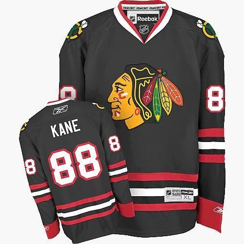 Patrick Kane Jersey - Buy 100% official Reebok Patrick Kane Men's Authentic Black  Jersey NHL
