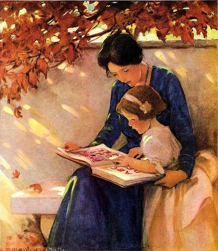 Jessie Willcox Smith - ABC's 1921 Good Housekeeping cover 10-1921 | Flickr - Photo Sharing!