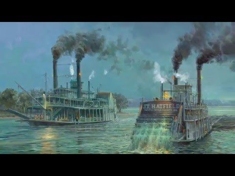 Indiana Bicentennial Minute No.3, Sponsored by the Indiana Historical Society (Steamboats)