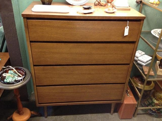 Midcentury Bassett Chest With 4 Drawers