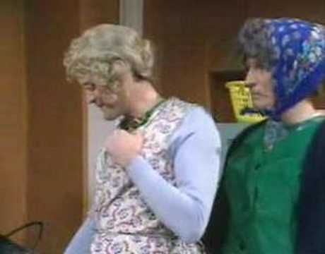 Monty Python - Mrs. Premise and Mrs. Conclusion visit Jean-Paul Sartre