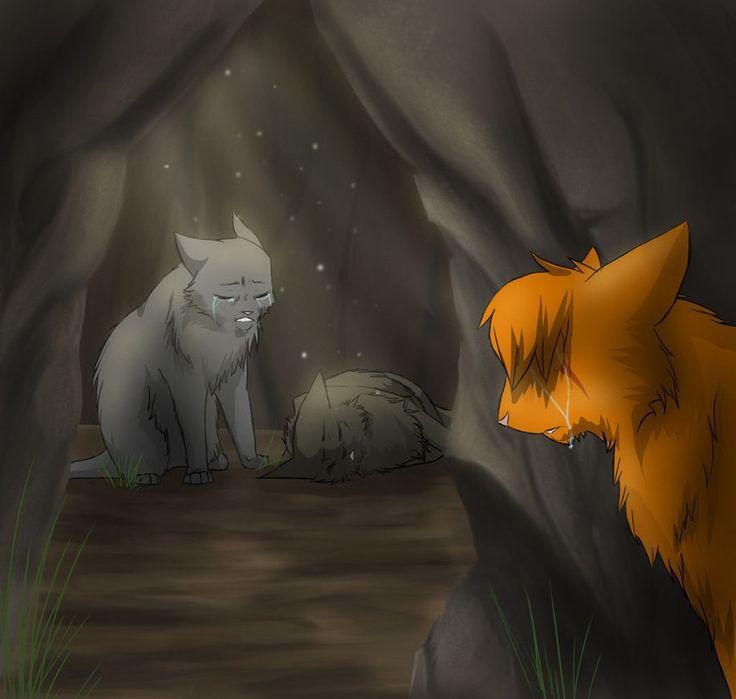 Warrior Cats Dead: Yellowfang's Death By Riverspirit456.deviantart.com