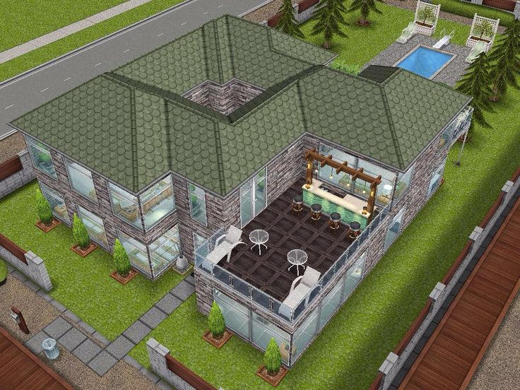 House 53 Full View #sims #simsfreeplay #simshousedesign