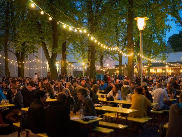 Berlin Prater Beer Garden, ältester Biergarten Berlins