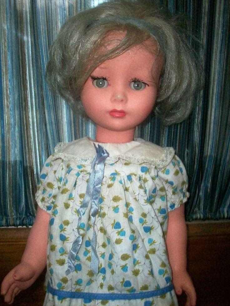 """vintage 19"""" Furga Doll Crier Works Vintage Fabulous!"""