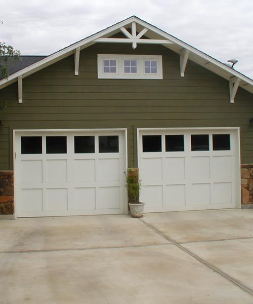 21 best detached garage images on pinterest driveway for Craftsman style garage