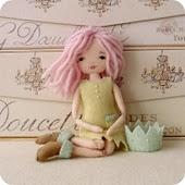 Darling doll from very cute blog