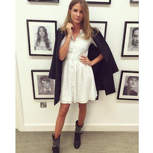 Shop Millie Mackintosh's Instagram Fashion In White Dress