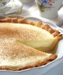 (microwave) milk tart/melk tert - one of my fave South African desserts!