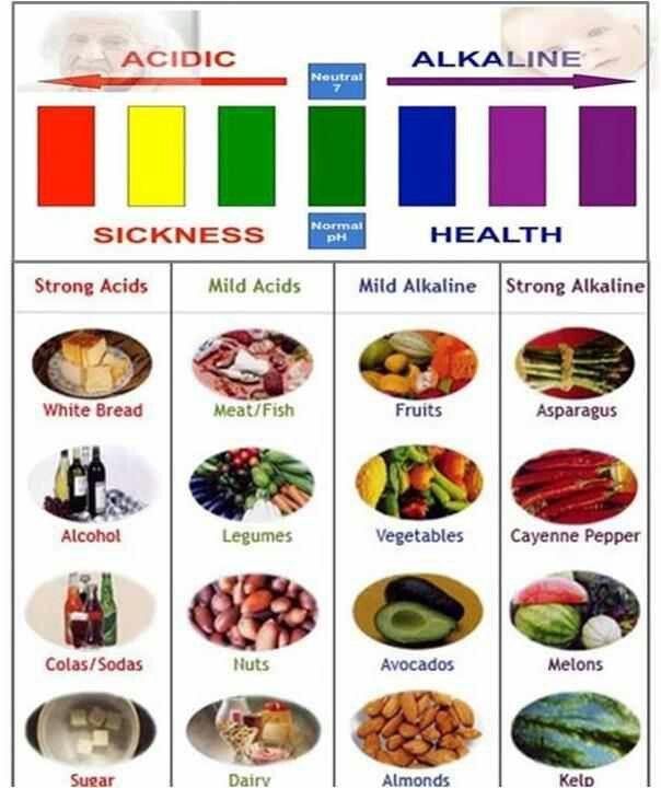 alkalined foods
