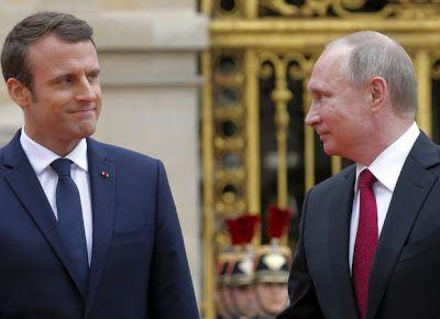 ΕΛΛΗΝΙΚΗ ΔΡΑΣΗ: Παγκόσμιος σάλος: Ε.Μακρόν εναντίον Β.Πούτιν για τ...