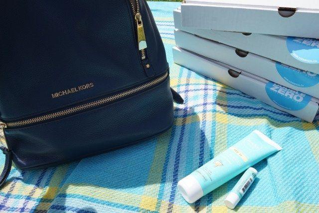 picnic essentials including Rocky Mountain Soap Sunscreen