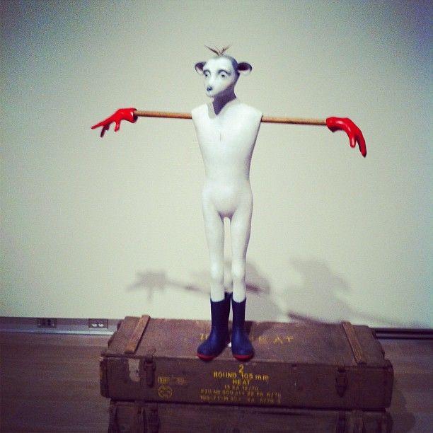 Jane Alexander exhibit at #SCAD Museum of Art