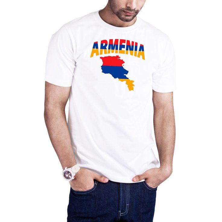 Men's Armenian Flag Map Armenia t-shirt by Calidreamers on Etsy