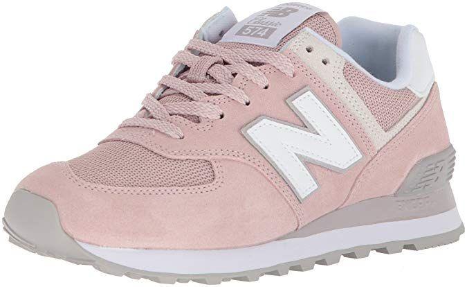 New Balance Womens 574v2 Sneaker, Faded Rose/Overcast, 7 B ...